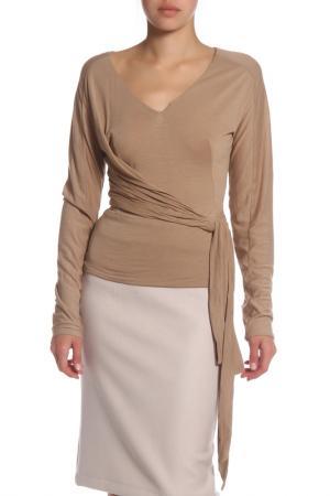 Блуза Costume National. Цвет: 284, бежевый