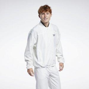 Спортивная куртка Classics Back Vector Reebok. Цвет: chalk