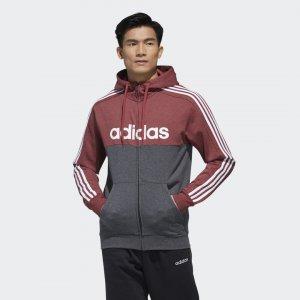 Толстовка Essentials Colorblock Performance adidas. Цвет: красный