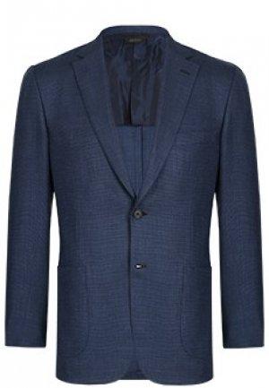 Пиджак BRIONI. Цвет: синий