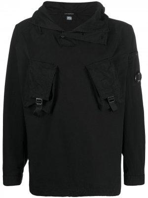 Анорак с капюшоном C.P. Company. Цвет: черный