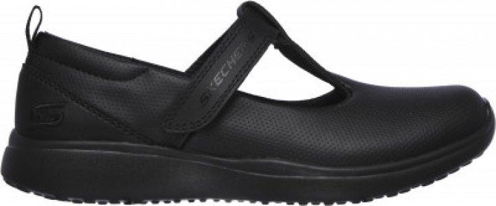 Туфли для девочек Microstrides, размер 36 Skechers. Цвет: черный