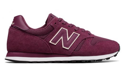 373 New Balance. Цвет: бордовый