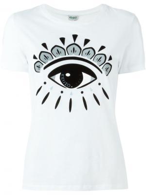 Майка Eye Kenzo. Цвет: белый