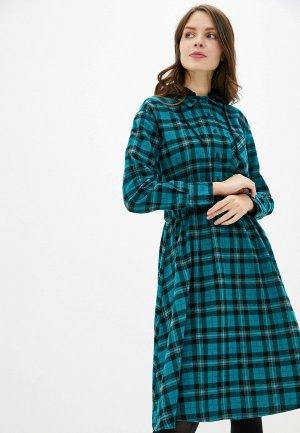 Платье Befree. Цвет: бирюзовый