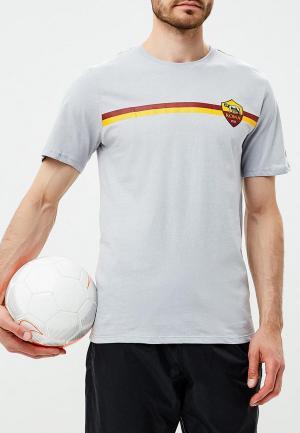 Футболка Nike NI464EMBWHP0. Цвет: серый