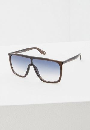 Очки солнцезащитные Givenchy GV 7040/S TIR. Цвет: черный