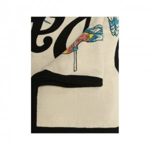 Хлопковое полотенце x Paulas Ibiza Loewe. Цвет: белый