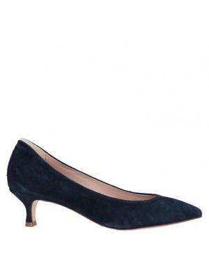 Туфли LORENA PAGGI. Цвет: темно-синий