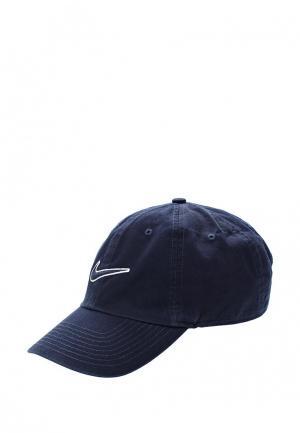 Бейсболка Nike UNISEX SPORTSWEAR ESSENTIALS HERITAGE86 CAP. Цвет: синий