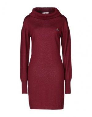 Короткое платье VIVIENNE WESTWOOD. Цвет: красно-коричневый