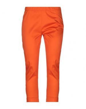 Брюки-капри CARACTÈRE. Цвет: оранжевый