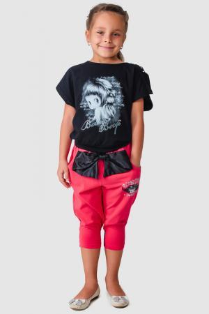 Футболка Betty Boop. Цвет: черный