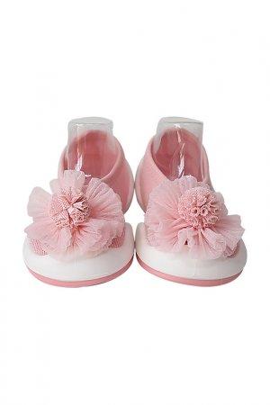 Носочки-ботиночки Komuello. Цвет: бордовый