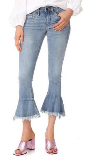 Расклешенные джинсы Trumpet Blank Denim. Цвет: fancy that