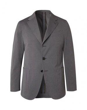 Пиджак CARUSO. Цвет: свинцово-серый