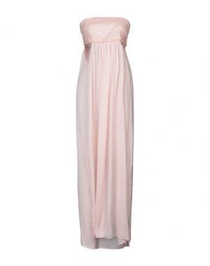 Длинное платье ANNARITA N. Цвет: розовый