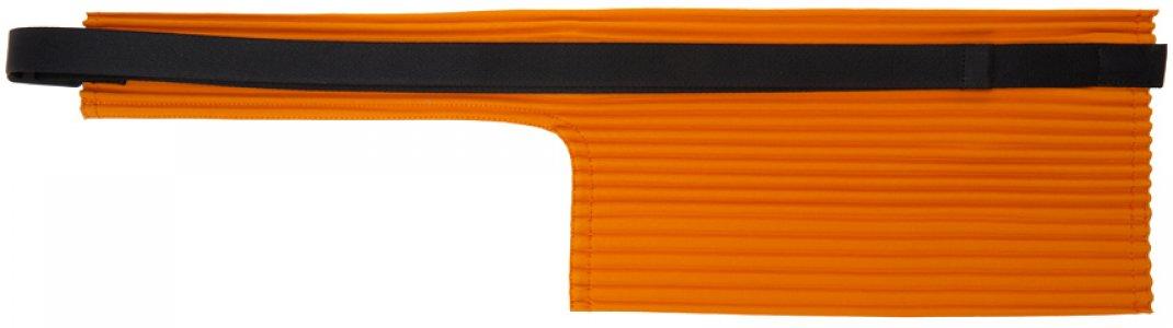 Orange Pleats Waist Bag Homme Plissé Issey Miyake. Цвет: 32 orange