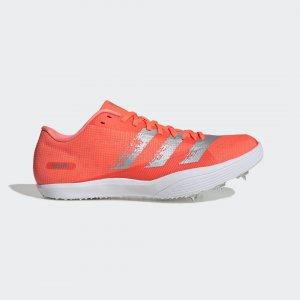 Шиповки для легкой атлетики adizero lj Performance adidas. Цвет: белый