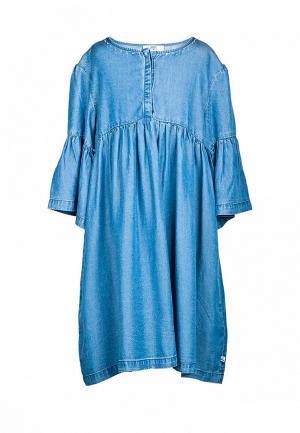 Платье Le Temps des Cerises. Цвет: синий