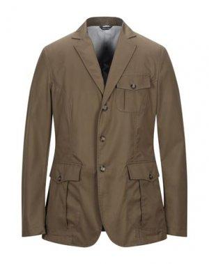 Пиджак YOON. Цвет: зеленый-милитари