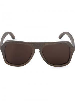 Солнцезащитные очки Waiting For The Sun. Цвет: серый