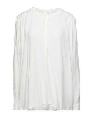 Блузка DES PETITS HAUTS. Цвет: слоновая кость