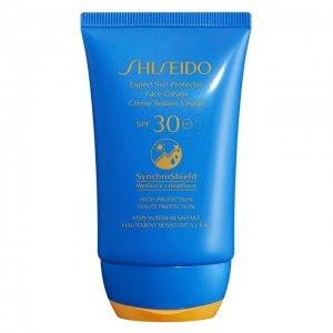 Солнцезащитный крем для лица Expert Sun SPF30 Shiseido. Цвет: бесцветный