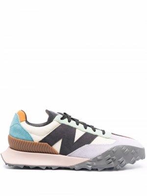 Кроссовки со вставками New Balance. Цвет: фиолетовый
