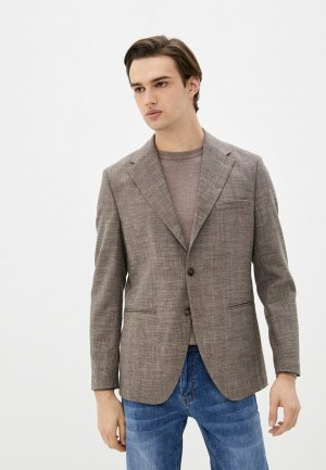 Пиджак Selected Homme. Цвет: коричневый
