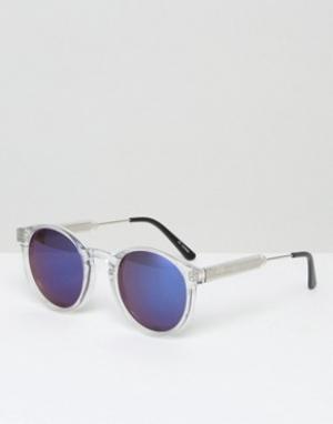 Солнцезащитные очки в прозрачной оправе Spitfire. Цвет: прозрачный