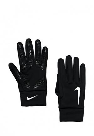 Перчатки вратарские Nike Hyperwarm Field Player Football Gloves. Цвет: черный