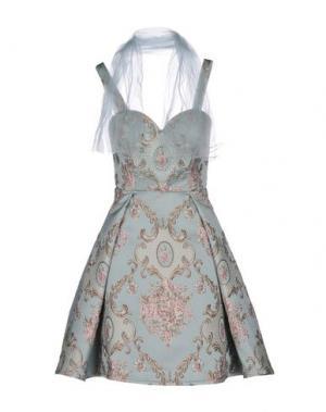 Короткое платье MIKAEL. Цвет: небесно-голубой