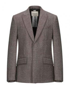 Пиджак ROCHAS. Цвет: красно-коричневый