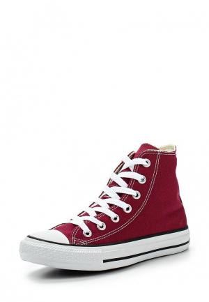 Кеды Converse ALL STAR HI MAROON. Цвет: бордовый