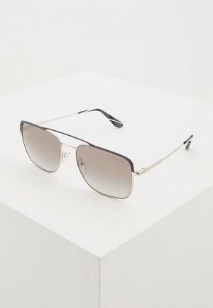 Очки солнцезащитные Prada PR 53VS 3294S1. Цвет: серый