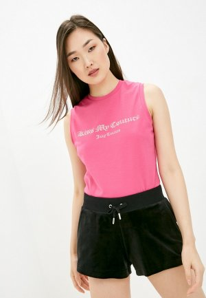 Майка Juicy Couture. Цвет: розовый