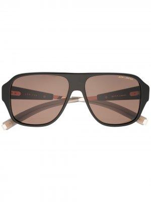 Солнцезащитные очки-авиаторы LSA-705 Dita Eyewear. Цвет: черный