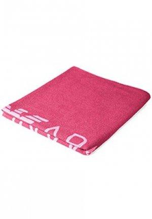 Полотенце EMPORIO ARMANI. Цвет: розовый