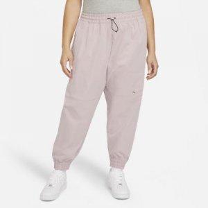 Женские брюки Nike Sportswear Swoosh (большие размеры) - Розовый