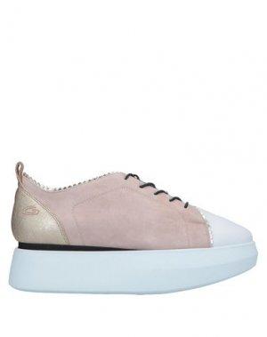 Обувь на шнурках ALBERTO GUARDIANI. Цвет: розовый