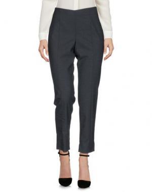 Повседневные брюки AQUILANO-RIMONDI. Цвет: свинцово-серый