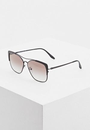 Очки солнцезащитные Prada PR 54VS 2640A7. Цвет: черный