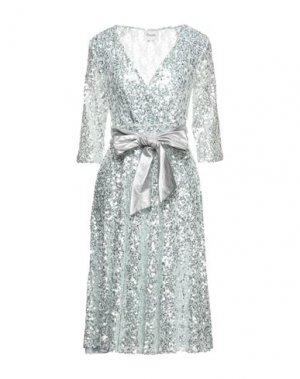 Платье миди DIXIE. Цвет: светло-зеленый