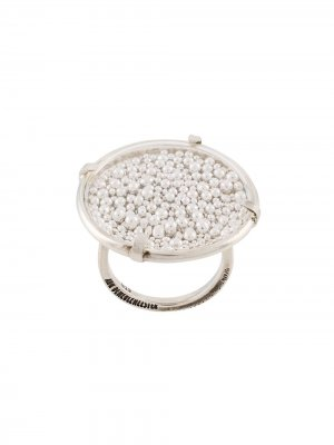 Декорированное кольцо Ann Demeulemeester. Цвет: золотистый