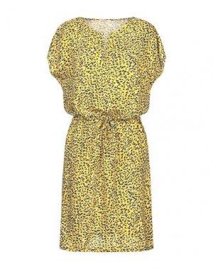 Платье до колена GARCIA. Цвет: желтый