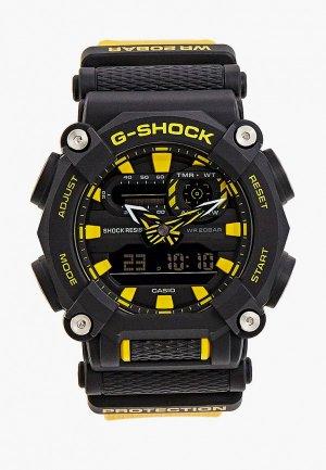 Часы Casio G-SHOCK GA-900A-1A9ER. Цвет: черный