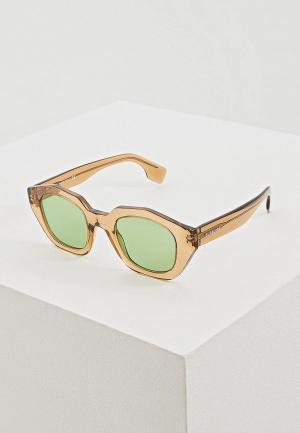 Очки солнцезащитные Burberry BE4288 3504/2. Цвет: бежевый