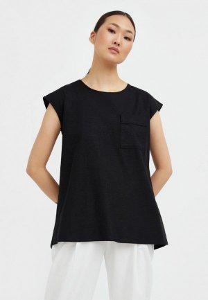 Блуза Finn Flare. Цвет: черный
