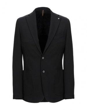 Пиджак LABORATORI ITALIANI. Цвет: черный